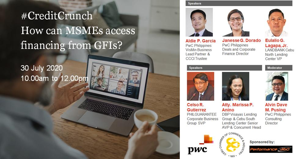 #CreditCrunch: How can MSMEs access financing from GFIs?
