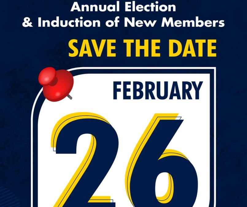 GMM Annual Election and Induction of New Members