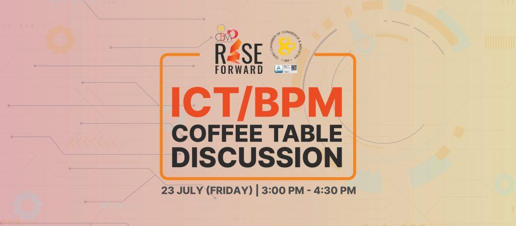 CBM 2021 ICT/BPM Coffee Table Discussion