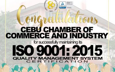 CCCI maintains ISO 9001:2015 Quality Management System Certification
