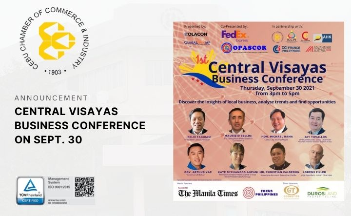 1ST CENTRAL VISAYAS BUSINESS CONFERENCE