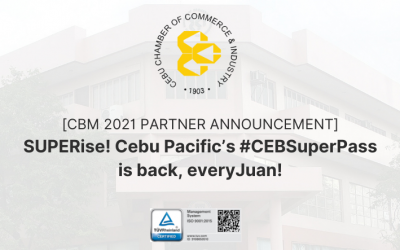 [CBM 2021 PARTNER ANNOUNCEMENT] SUPERise! Cebu Pacific's #CEBSuperPass is back, everyJuan!