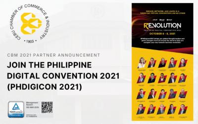 [CBM 2021 PARTNER ANNOUNCEMENT] Join the PHILIPPINE DIGITAL CONVENTION 2021 (PHDigicon 2021)