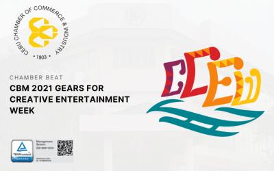 CBM 2021 GEARS FOR CREATIVE ENTERTAINMENT WEEK