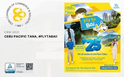 (CBM 2021 PARTNER ANNOUNCEMENT) Cebu Pacific Tana, #FlytaBai!