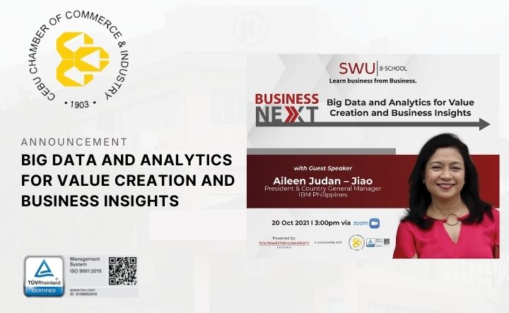 (WEBINAR) BIG DATA AND ANALYTICS FOR VALUE CREATION AND BUSINESS INSIGHTS