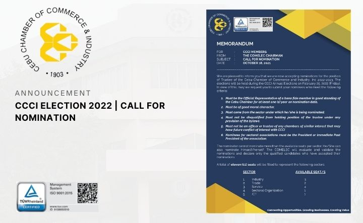 CCCI ELECTION 2022   CALL FOR NOMINATION